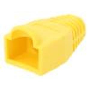 Krytka vidlice RJ45 6,5mm Barva: žlutá