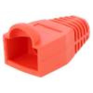 Krytka vidlice RJ45 6,5mm Barva: červená