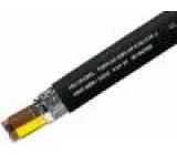 Vodič TOPFLEX-EMV-UV,2YSLCYK-J licna Cu 4G6mm2 PE černá