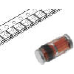 TZS4678-GS08 Dioda: Zenerova 0,5W 1,8V SMD role, páska quadroMELF