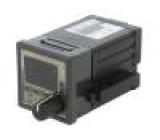 Modul: regulátor teplota relé relé do panelu -999÷9990 0÷50°C