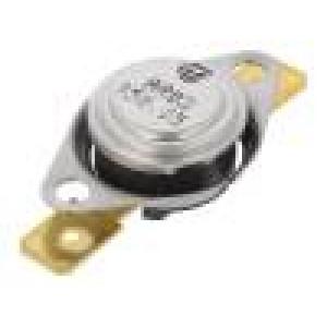 Čidlo: termostat Konf.výstupu: SPST-NC 150°C 16A 250VAC ±5°C