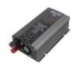 Měnič: automobilový dc/ac 500W Uvýst:230VAC 21÷31VDC 0÷40°C