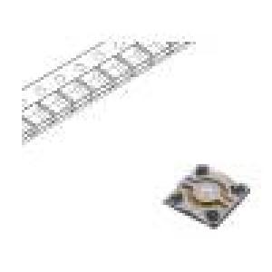 Mikrospínač TACT SPST Polohy: 2 0,02A/15VDC 0,58mm OFF-(ON)