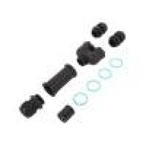 Konektor: napájecí AC šroubová svorka TH399 8÷17mm 0,5÷1,5mm2