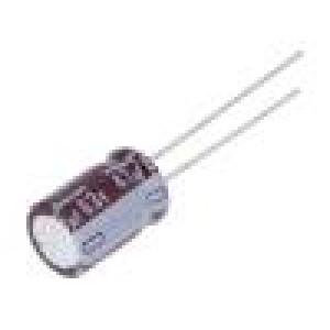 Kondenzátor: elektrolytický THT 47uF 63VDC Ø8x11,5mm ±20%