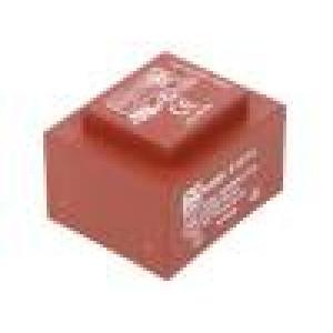 Transformátor: zalévaný 10VA 230VAC 9V 1111mA Montáž: PCB