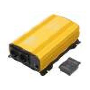 Měnič: automobilový dc/ac 1500W Uvýst: 230VAC 11÷15VDC 0÷40°C