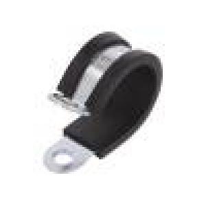 Úchytky Øsvazku: 20mm W: 12mm ocel Materiál pouzdra: EPDM W1