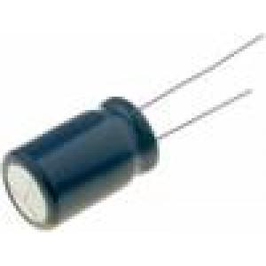 Kondenzátor: elektrolytický s nízkou impedancí THT 470uF ±20%