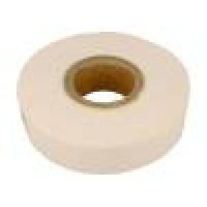 Páska: termovodivý W: 50mm L: 15m D: 1,5mm 3W/mK bilá akryl 1TΩm