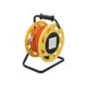 Vodič S/FTP 6a drát Cu LSZH oranžová 60m 6mm