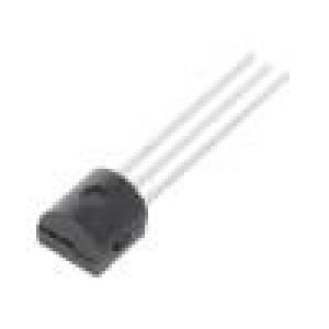 NTE123AP Tranzistor: NPN bipolární 40V 600mA 625mW TO92