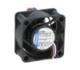 Ventilátor: DC axiální 40x40x20mm 13m3/h 29dBA kluzné