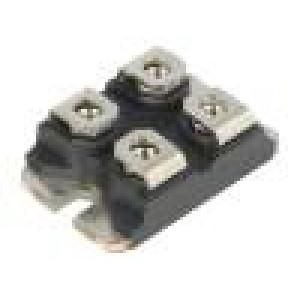 Modul jeden tranzistor 200V 160A SOT227B Ugs: ±30V Idm: 500A