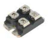 Modul jeden tranzistor 600V 23A ISOTOP Ugs: ±30V Idm: 160A