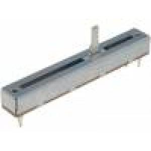 Potenciometr tahový 1kΩ 500mW THT ±20% lineární Mat: kov 500V