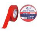 Páska: izolační W: 19mm L: 20m D: 0,15mm červená kaučukové 6V