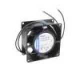 Ventilátor: AC axiální 80x80x38mm 61m3/h 34dBA kluzné 60Hz