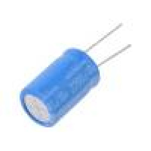 Kondenzátor: elektrolytický THT 2200uF 16VDC Ø16x25mm ±20%