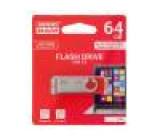 Pendrive USB 3.0 64GB Čtení: 110MB/s Zápis: 20MB/s