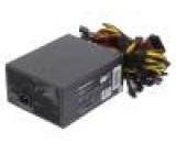 Napájecí zdroj: počítačový ATX 150x185x85mm 1,6kW