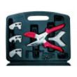 Nůžky Balení: kufřík Vybavení: výměnné břity