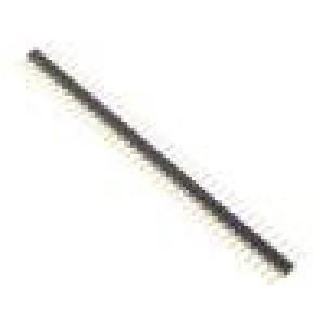 Patice lišta s piny 36 PIN zlacený UL94V-0 THT rozteč 2,54mm