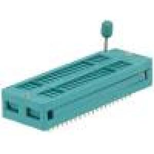 Patice DIP ZIF 40 PIN 7,62/15,24mm rozebíratelná -40-105°C