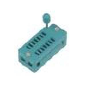 Patice DIP ZIF 14 PIN 7,62mm rozebíratelná -40-105°C THT