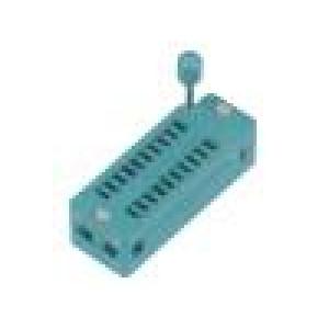 Patice DIP ZIF 20 PIN 7,62mm rozebíratelná -40-105°C THT