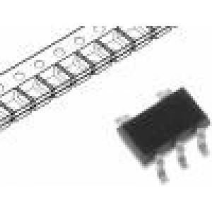 M74VHC1G132DFT2G IC číslicový NAND Schmitt trigger Vstupy:2 SOT323-5