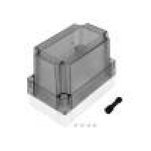 Krabička univerzální MNX X:80mm Y:130mm Z:100mm polykarbonát