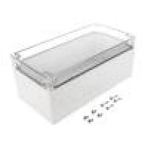 Krabička univerzální EURONORD X:124mm Y:244mm Z:102mm šedá IK07