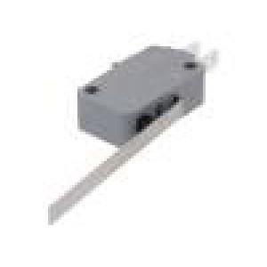 Mikrospínač SNAP ACTION s páčkou SPDT 16A/250VAC ON-(ON)