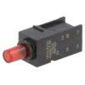 Mikrospínač 1-polohové DPDT 0,5A/60VDC THT 8N 7,4mm ON-(ON)
