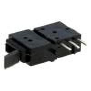 Mikrospínač 1-polohové SPST 0,5A/60VDC THT 162,26x9,95x5mm
