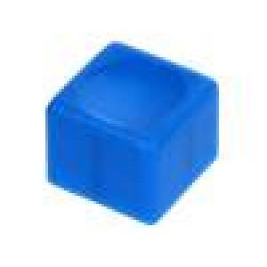 Hmatník obdélníkový modrá