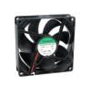 Ventilátor 12VDC 90x90x25mm 67,11m3/h 28dBA kuličkové