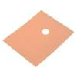 Tepelně vodivá podložka kaptonová TO220 0,15K/W L:23mm