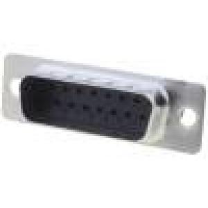 Zástrčka D-Sub 15 PIN vidlice bez kontaktů na kabel 250V