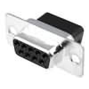 Zástrčka D-Sub 9 PIN zásuvka bez kontaktů na kabel 250V