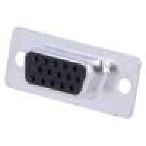 Zástrčka D-Sub HD 15 PIN zásuvka pájení na kabel