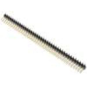 Kolíková lišta kolíkové vidlice PIN:80 svislý 2mm SMT 2x40