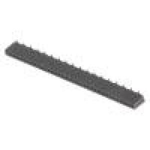 Zásuvka kolíkové zásuvka PIN:36 přímý 1,27mm SMT 1x36 1A