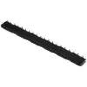 Zásuvka kolíkové zásuvka PIN:40 přímý 1,27mm SMT 1x40 1A