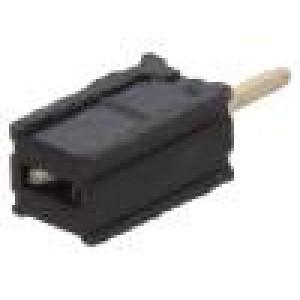 Zásuvka kolíkové zásuvka PIN:1 přímý 1,27mm THT 1x1