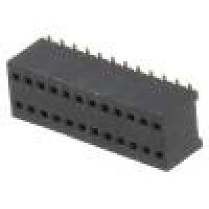 Zásuvka kolíkové zásuvka PIN:24 přímý 1,27mm SMT 2x12