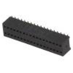 Zásuvka kolíkové zásuvka PIN:36 přímý 1,27mm SMT 2x18