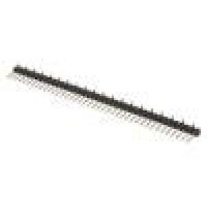 Kolíková lišta kolíkové vidlice PIN:40 svislý 2,54mm SMT